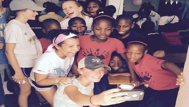 Haiti Selfie