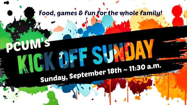 Kick Off Sunday banner 2016